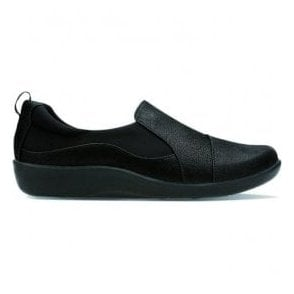 Womens Sillian Paz Black Slip On Casual Shoes