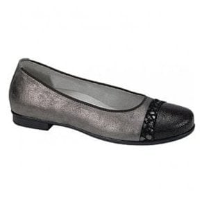 Womens Hamiki Pewter Slip On Shoes 328004 302 103
