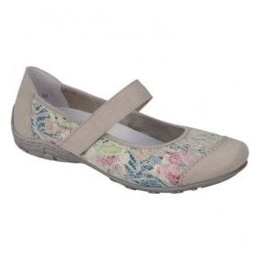 Womens Eagle Off-White Strap Over Shoes L2072-81