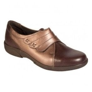 Womens Bakewell Brown/Espresso Wide Fitting Shoes