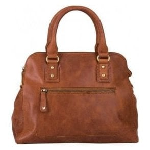 Womens Haven Brandy Leather Handbag