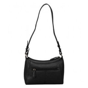 Womens Beth Black Leather Handbag