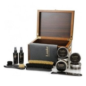 Wooden Valet Box - Luxury Care Kit