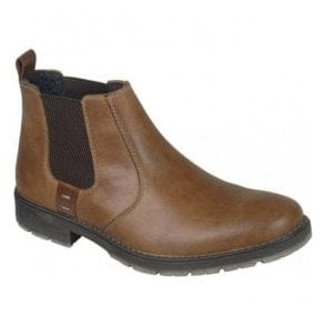 Russia Brown Leather Chelsea Boots 33353-25