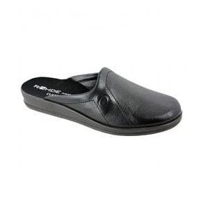 Mens Black Slippers 2694-90