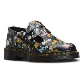 Womens 8065 Black Darcy Floral Mary Jane Shoes 22948001