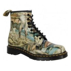 Womens 1460 Multi William Blake Boots 22873102 Limited Edition