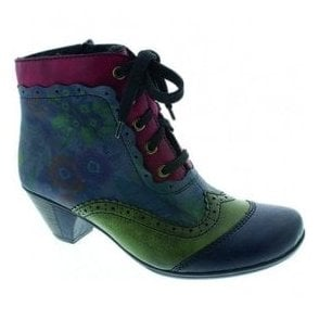Eagle Multi Lace Up Ankle Boots Y7213-15