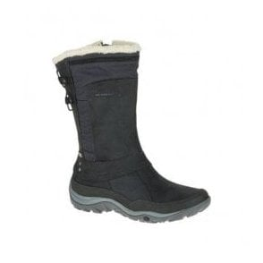 Womens Murren Mid Black Waterproof Mid Height Boots J02164