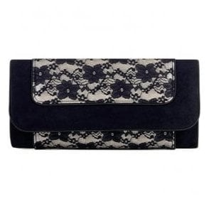 Womens Charleston Lace Clutch Handbag 50099