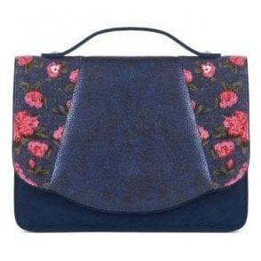 Womens Belfast Blue Cross Body Handbag 50090
