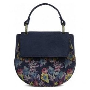 Womens Acapulco Navy Mini Saddle Bag 50101