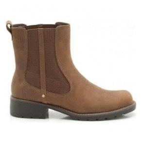 Womens Orinoco Club Brown Snuff Leather Boots