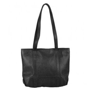 Womens Kensington Black Leather Handbag