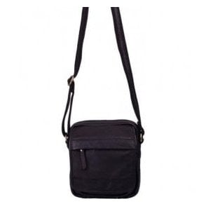 Womens Richmond Black Leather Handbag