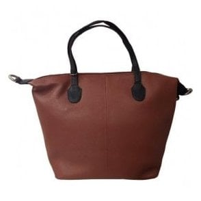 Womens Westborough Tan Leather Handbag