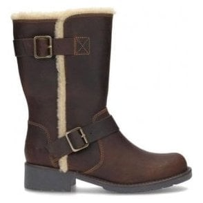 Womens Orinoco Art Beeswax Leather Mid Calf Boots