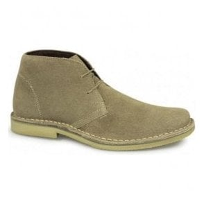 Mens Mod Sand Leather Desert Boots M420BS