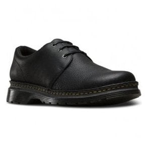 Mens Hazeldon Black Grizzly Casual Lace Up Shoes 22936001