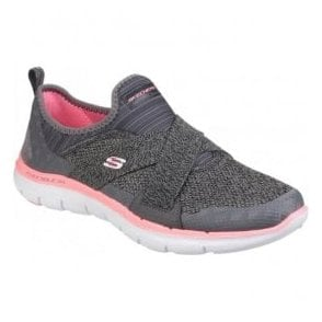 Womens Charcoal/Coral Flex Appeal 2.0 - New Image Shoes SK12752