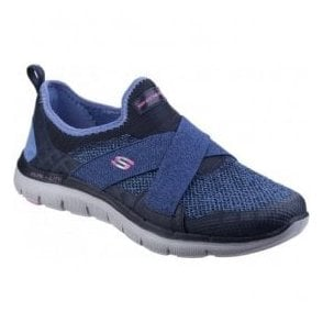 Womens Navy Flex Appeal 2.0 - New Image Shoes SK12752