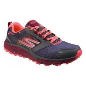 Womens Charcoal Multi Go Trail Walking Shoes SK14112
