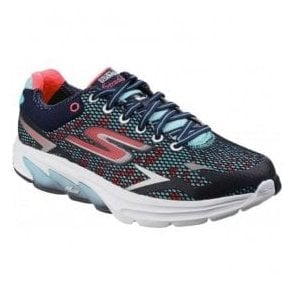Womens Navy/Coral Go Meb - Strada 2 Trainers SK14115
