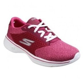 Womens Rasberry Go Walk 4 - Exceed Trainers SK14146