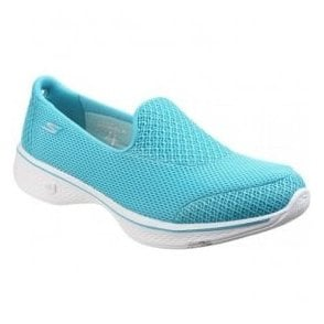 Womens Turquoise Go Walk 4 - Propel Walking Shoes SK14170