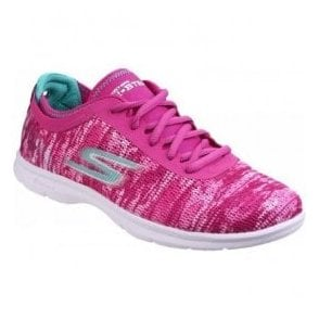 Womens Pink Go Step Walking Shoes SK14200