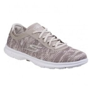 Womens Taupe Go Step Walking Shoes SK14200