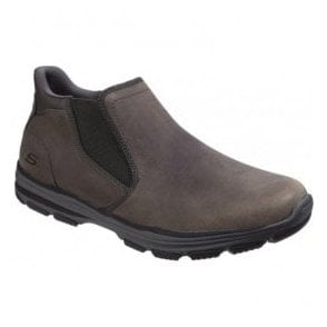 Mens Charocal Garton Keven Slip-On Ankle Boots SK64996