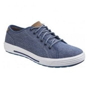 Mens Navy Porter - Meteno Lace-Up Shoes SK64935