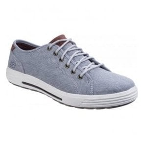 Mens Light Grey/Grey Porter - Meteno Lace-Up Shoes SK64935