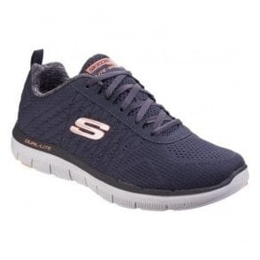 Mens Dark Navy Flex Advantage - 2.0 The Happs Lace Up Trainers SK52185