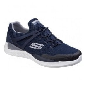 Mens Navy/Grey Matrixx - Kingdon Lace Up Trainers SK52664