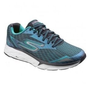 Mens Charcoal/Teal Go Run - Forza 2 Lace Up Trainers SK54106