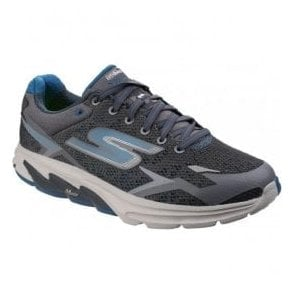 Mens Charcoal/Blue Go Meb - Strada 2 Lace Up Trainers SK54115