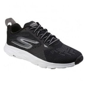 Mens Black/White Go Run - Ride 6 Lace Up Trainers SK54117