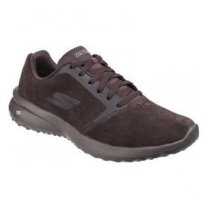 Mens Chocolate On The Go City 3.0 - Delux Lace Up Trainers SK55310