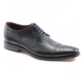 Mens Foley Black Calf Lace Up Shoes