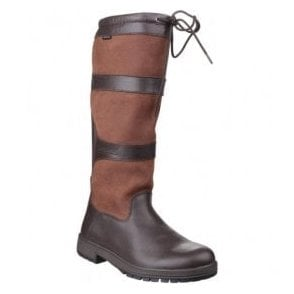 Womens Beaumont Walnut Waterproof Pull on Wellington Boots