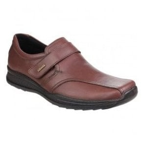 Mens Birdlip Brown Waterproof Touch Fastening Shoes