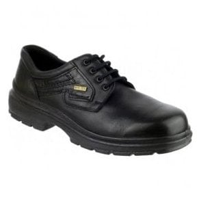 Mens Shipston Black Waterproof Lace Up Shoes