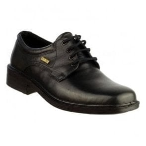 Mens Sudeley Black Waterproof Lace-Up Shoes