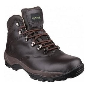 Mens Winstone Brown Waterproof Hiking Boots