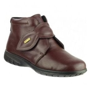 Womens Tew Bordo Waterproof Ankle Boots