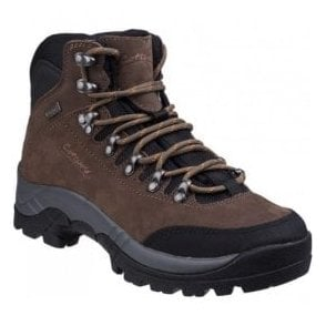 Mens Westonbirt Brown Waterproof Hiking Boots