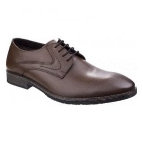 Mens Carlos Luganda Brown Formal Shoes