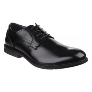 Mens Durban Mainstreet Black Dual Fit Lace up Shoes